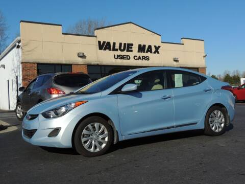 2013 Hyundai Elantra for sale at ValueMax Used Cars in Greenville NC