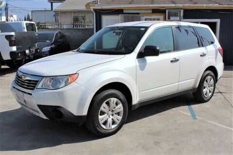 2009 Subaru FORESTER X for sale at FJ Auto Sales in North Hollywood CA