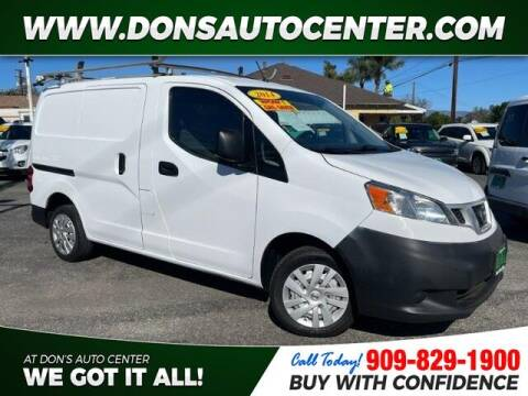 2014 Nissan NV200 for sale at Dons Auto Center in Fontana CA