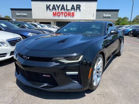 2017 Chevrolet Camaro for sale at KAYALAR MOTORS in Houston TX