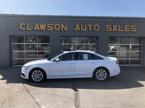 2017 Audi A6 for sale at Clawson Auto Sales in Clawson MI