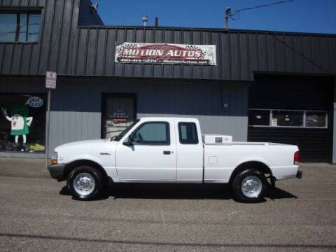 2000 Ford Ranger for sale at Motion Autos in Longview WA