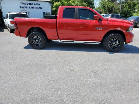 2013 RAM Ram Pickup 1500 for sale at DISCOUNT AUTO SALES in Johnson City TN