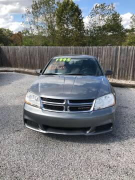 2013 Dodge Avenger for sale at Gregs Auto Sales in Batesville AR
