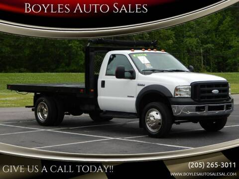 2007 Ford F-550 Super Duty for sale at Boyles Auto Sales in Jasper AL
