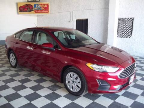 2019 Ford Fusion for sale at Schalk Auto Inc in Albion NE