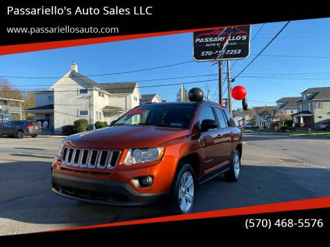 2012 Jeep Compass for sale at Passariello's Auto Sales LLC in Old Forge PA