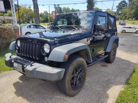 2015 Jeep Wrangler for sale at Ray Moore Auto Sales in Graham NC
