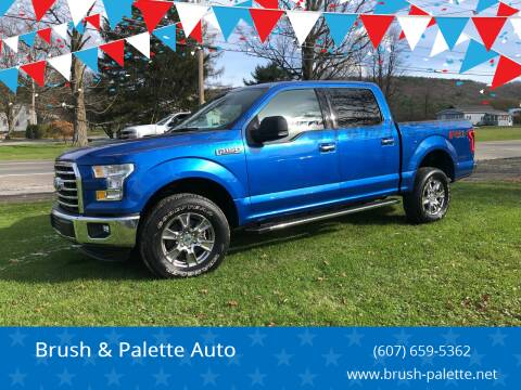 2015 Ford F-150 for sale at Brush & Palette Auto in Candor NY