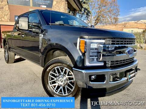 2018 Ford F-250 Super Duty for sale at TJ Chapman Auto in Salt Lake City UT