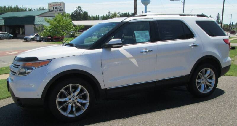 2015 Ford Explorer for sale at The AUTOHAUS LLC in Tomahawk WI