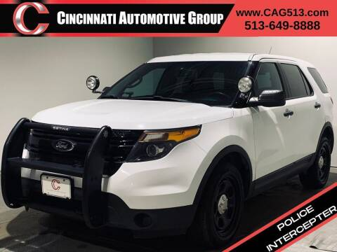 2015 Ford Explorer for sale at Cincinnati Automotive Group in Lebanon OH