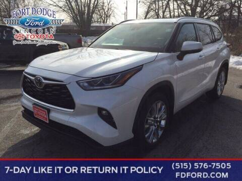 2020 Toyota Highlander for sale at Fort Dodge Ford Lincoln Toyota in Fort Dodge IA
