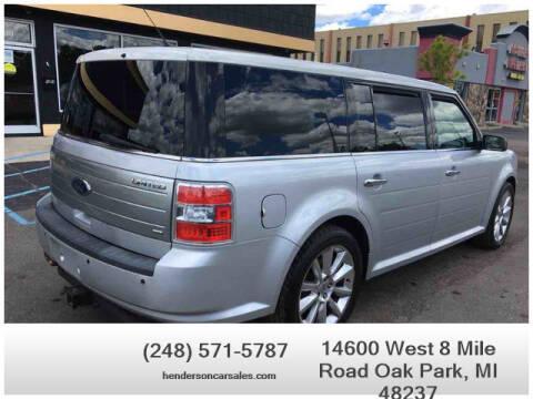 2010 Ford Flex for sale at Henderson Automotive, LLC in Oak Park MI