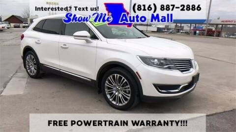 2016 Lincoln MKX for sale at Show Me Auto Mall in Harrisonville MO