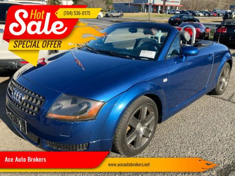 2005 Audi TT for sale at Ace Auto Brokers in Charlotte NC