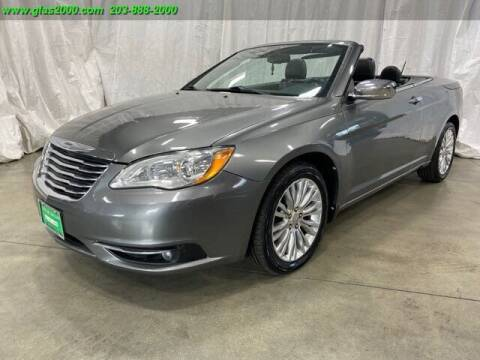 2012 Chrysler 200 Convertible for sale at Green Light Auto Sales LLC in Bethany CT