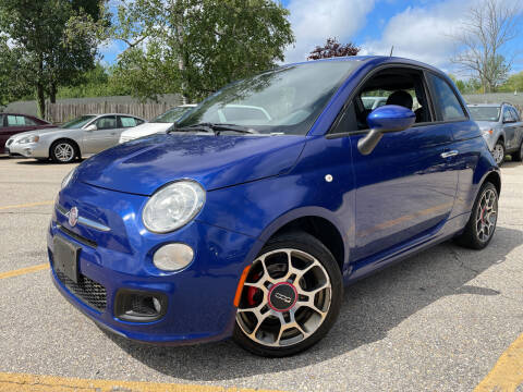 2012 FIAT 500 for sale at J's Auto Exchange in Derry NH