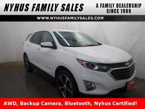 2020 Chevrolet Equinox for sale at Nyhus Family Sales in Perham MN