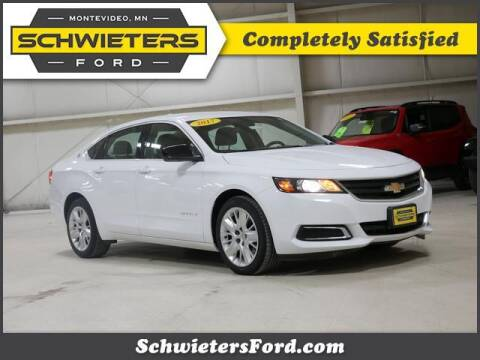 2017 Chevrolet Impala for sale at Schwieters Ford of Montevideo in Montevideo MN