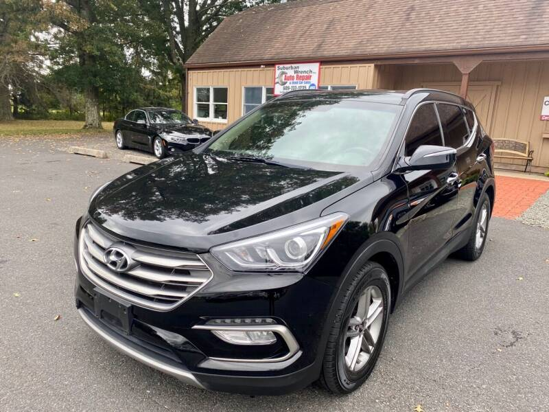 2017 Hyundai Santa Fe Sport for sale at Suburban Wrench in Pennington NJ