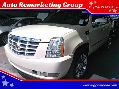 2010 Cadillac Escalade for sale at Auto Remarketing Group in Pompano Beach FL