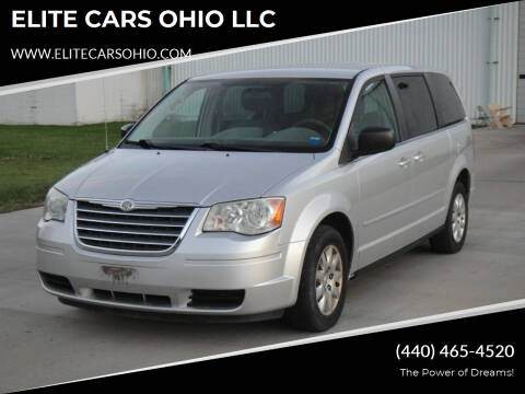 2010 Chrysler Town and Country for sale at ELITE CARS OHIO LLC in Solon OH