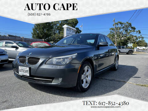 2008 BMW 5 Series for sale at Auto Cape in Hyannis MA