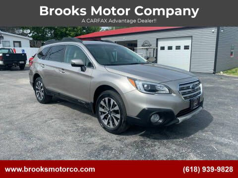 2015 Subaru Outback for sale at Brooks Motor Company in Columbia IL
