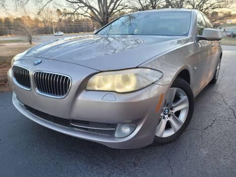 2013 BMW 5 Series for sale at Gwinnett Luxury Motors in Buford GA
