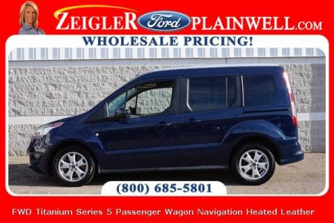2017 Ford Transit Connect Wagon for sale at Zeigler Ford of Plainwell- michael davis in Plainwell MI