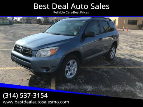 2006 Toyota RAV4 for sale at Best Deal Auto Sales in Saint Charles MO