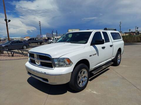 2010 Dodge Ram Pickup 1500 for sale at Century Auto Sales in Apache Junction AZ