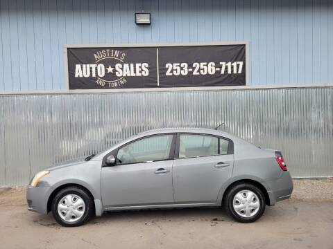 2007 Nissan Sentra for sale at Austin's Auto Sales in Edgewood WA