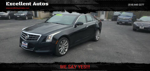 2014 Cadillac ATS for sale at Excellent Autos in Amsterdam NY