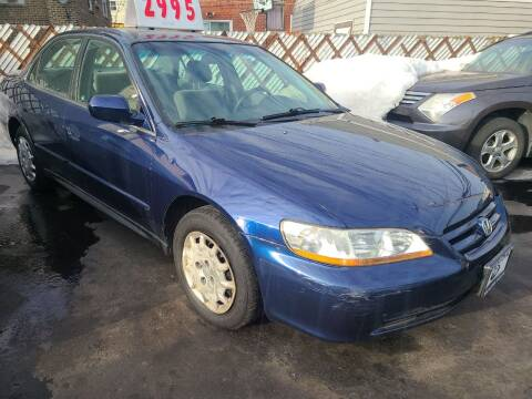 2002 Honda Accord for sale at TEMPLETON MOTORS in Chicago IL