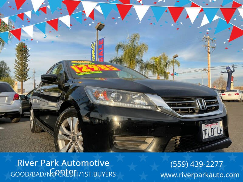 2015 Honda Accord for sale at River Park Automotive Center in Fresno CA