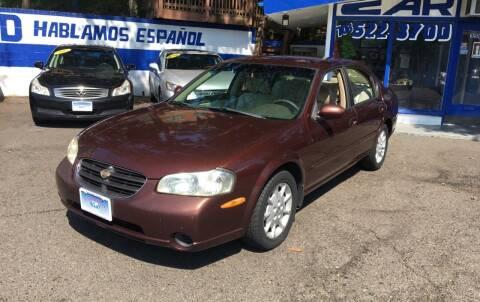 2000 Nissan Maxima for sale at Car World Inc in Arlington VA