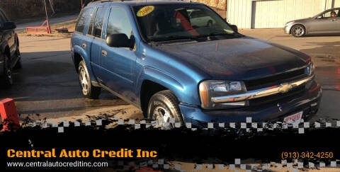 2006 Chevrolet TrailBlazer for sale at Central Auto Credit Inc in Kansas City KS