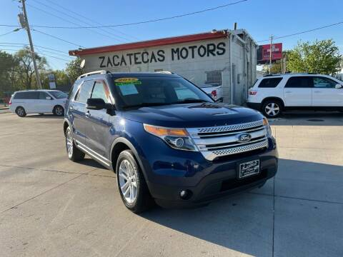 2012 Ford Explorer for sale at Zacatecas Motors Corp in Des Moines IA