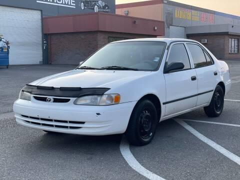 1998 Toyota Corolla for sale at California Auto Deals in Sacramento CA
