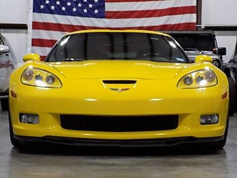 2008 Chevrolet Corvette for sale at Texas Motor Sport in Houston TX
