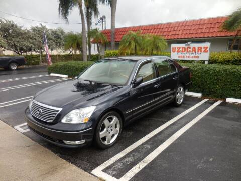 2005 Lexus LS 430 for sale at Uzdcarz Inc. in Pompano Beach FL