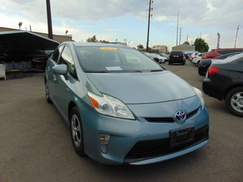2012 Toyota Prius for sale at Avalanche Auto Sales in Denver CO
