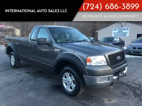 2004 Ford F-150 for sale at INTERNATIONAL AUTO SALES LLC in Latrobe PA