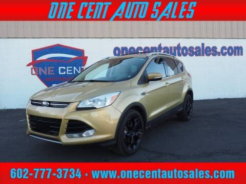2014 Ford Escape for sale at One Cent Auto Sales in Glendale AZ