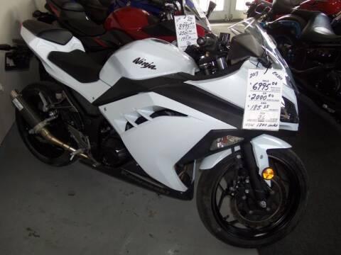 2013 Kawasaki NINJA 300 for sale at Fulmer Auto Cycle Sales - Fulmer Auto Sales in Easton PA