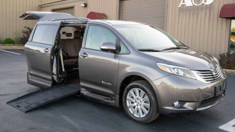 2017 Toyota Sienna for sale at A&J Mobility in Valders WI