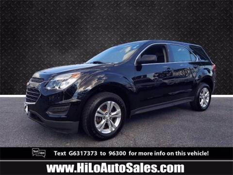 2016 Chevrolet Equinox for sale at Hi-Lo Auto Sales in Frederick MD