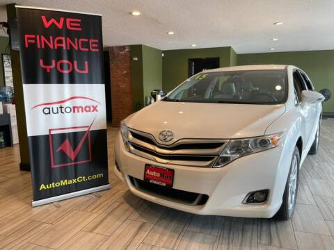 2015 Toyota Venza for sale at AutoMax in West Hartford CT
